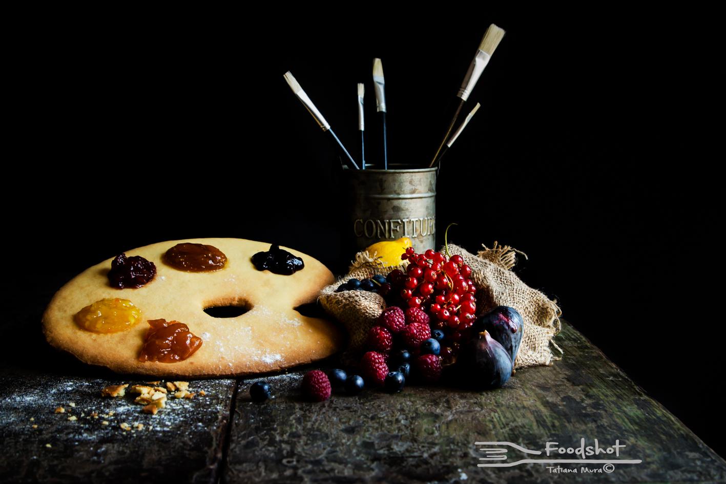 food, colors, creativity